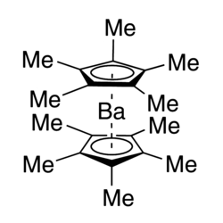 Ba(Me5Cp)2 Chemical Structure