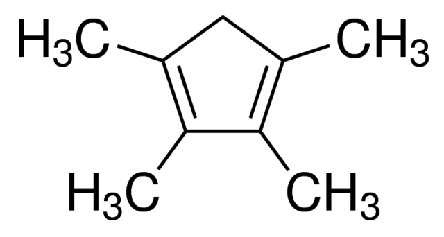 Tetramethylcyclopentadiene Chemical Structure