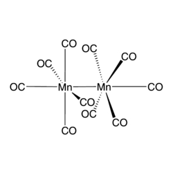 Dimanganese(0) decacarbonyl Chemical Structure