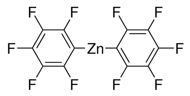 Bis(pentafluorophenyl)zinc chemical structure