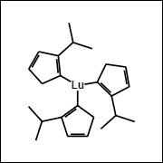 (iPrCp)3Lu Chemical Structure