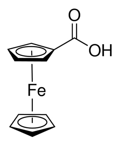 Carboxyferrocene chemical streucture
