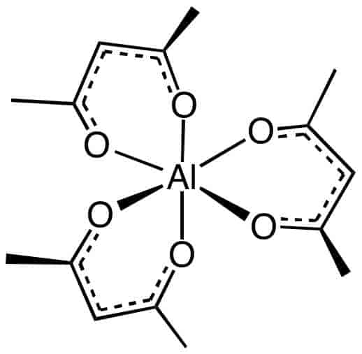 Al(acac)3 chemical structure