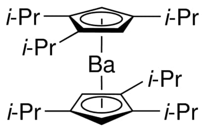 Ba(iPr3Cp)2 chemical structure