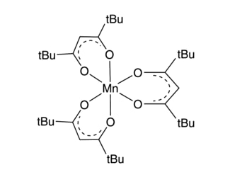 Mn(TMHD)3 chemical structure