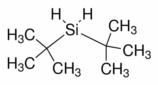 Bis(2-methyl-2-propanyl)silane chemical structure