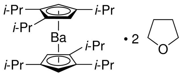 Bis[tri(i-propyl)cyclopentadienyl]barium Chemical Structure
