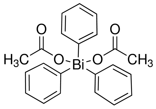 Bis(acetato-O)triphenylbismuthine Chemical Structure