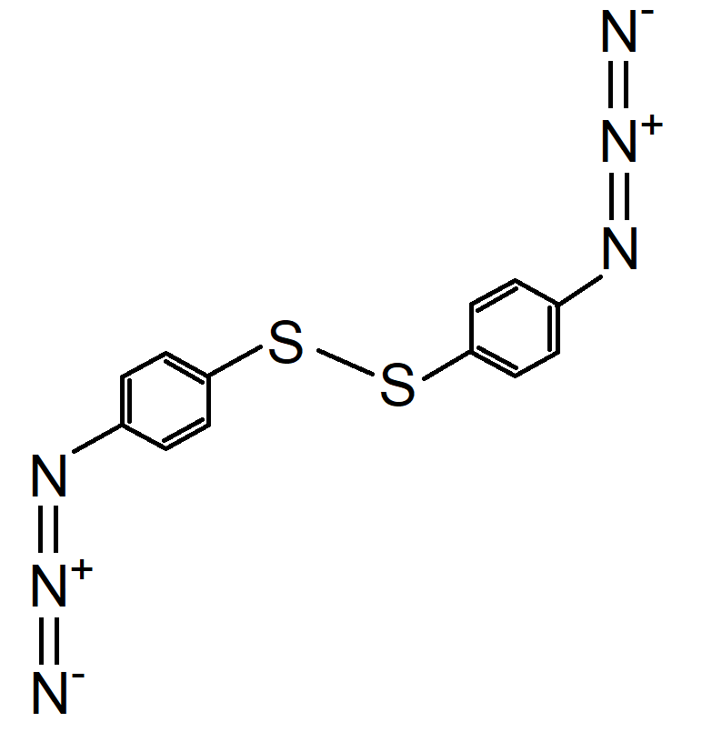 Dithiobis phenyl azide Chemical Structure