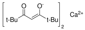 Bis(2,2,6,6-tetramethyl-3,5-heptanedionate)calcium Chemical Structure