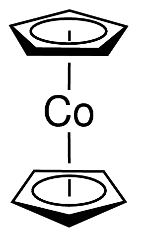 Bis(cyclopentadienyl)cobalt Chemical Structure