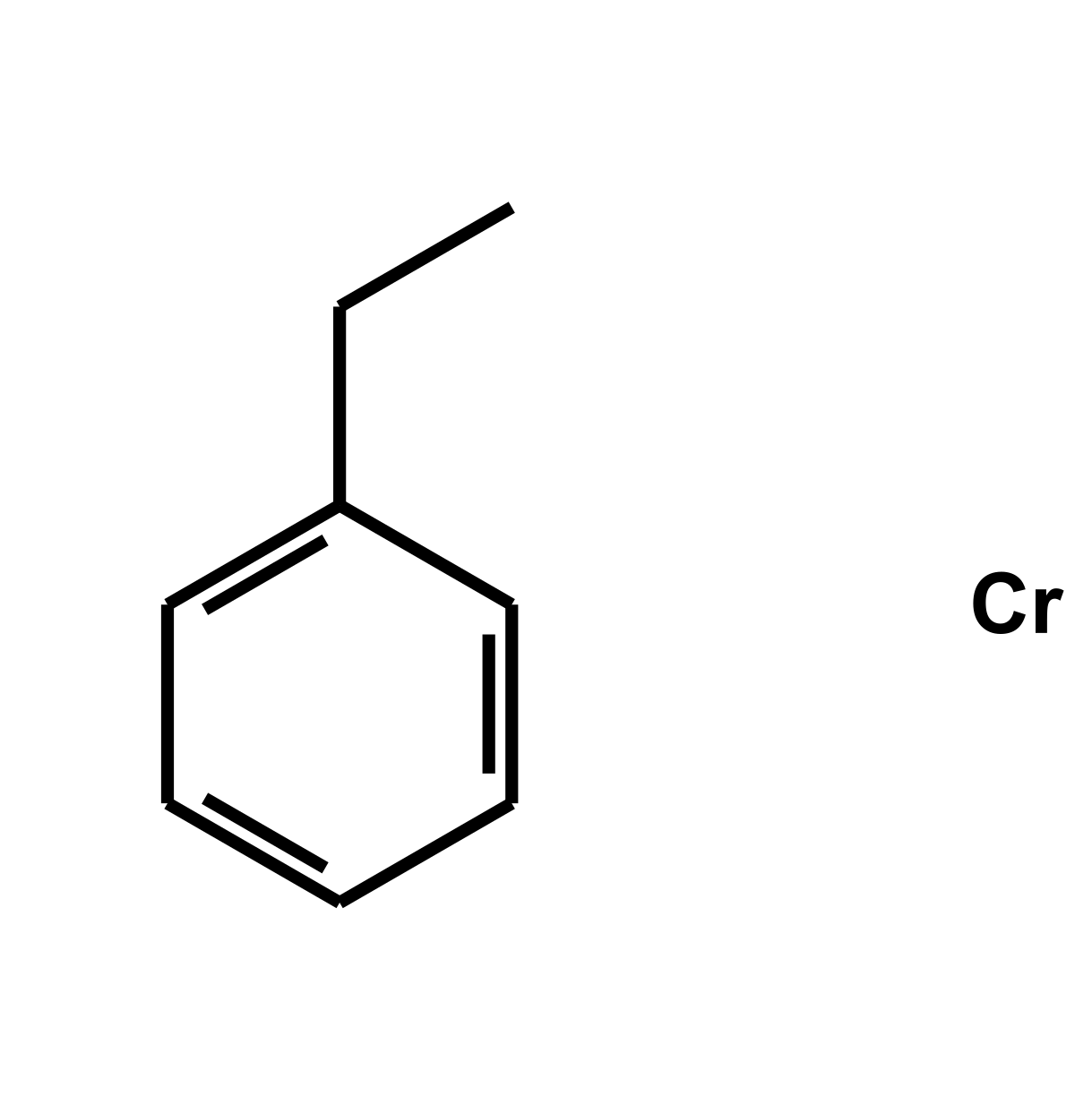 Bis(ethylbenzene)chromium, organic impurities below 5% Chemical Structure