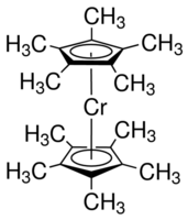 Bis(pentamethylcyclopentadienyl)chromium Chemical Structure