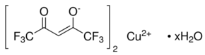 Copper(II) hexafluoroacetylacetonate hydrate Chemical Structure