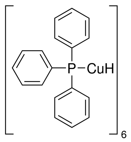 Hydrido(triphenylphosphino)copper(I) hexamer Chemical Structure