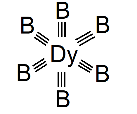 Dysprosium Boride Chemical Structure