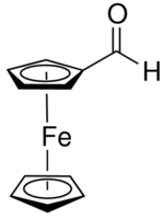 Ferrocene carboxyaldehyde Chemical Structure