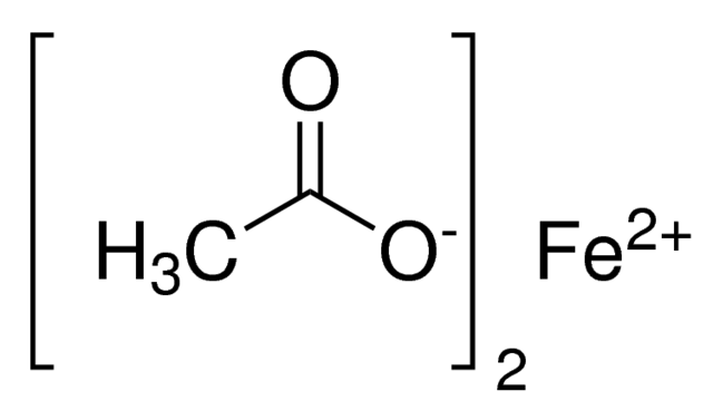 Iron(II) acetate, anhydrous Chemical Structure