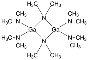 Tris(dimethylamido)gallium(III) Chemical Structure