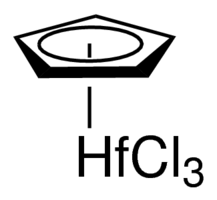 Cyclopentadienylhafnium trichloride Chemical Structure