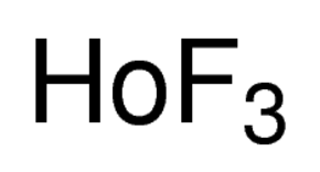 Holmium Fluoride Chemical Structure