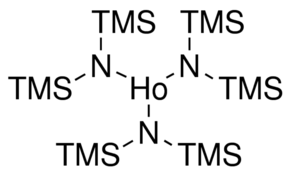 Tris[N,N-bis(trimethylsilyl)amide]holmium(III) Chemical Structure