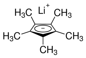 Lithium pentamethylcyclopentadienide Chemical Structure