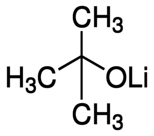 Lithium tert-butoxide Chemical Structure