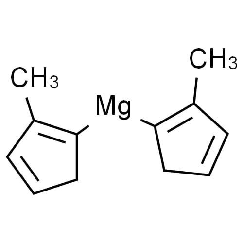 Bis(methylcyclopentadienyl)magnesium Chemical Structure