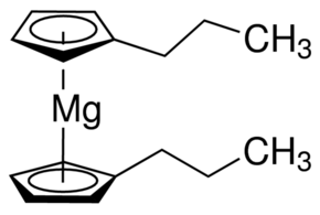 Bis(n-propylcyclopentadienyl)magnesium Chemical Structure