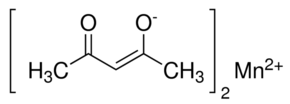 Manganese(II) acetylacetonate Chemical Structure