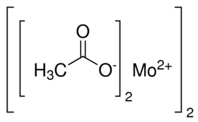 Molybdenum(II) acetate dimer Chemical Structure