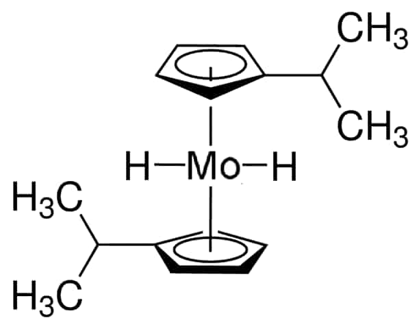 Bis(isopropylcyclopentadienyl)molybdenum dihydride Chemical Structure