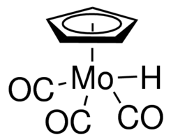 Cyclopentadienylmolybdenum tricarbonyl hydride Chemical Structure