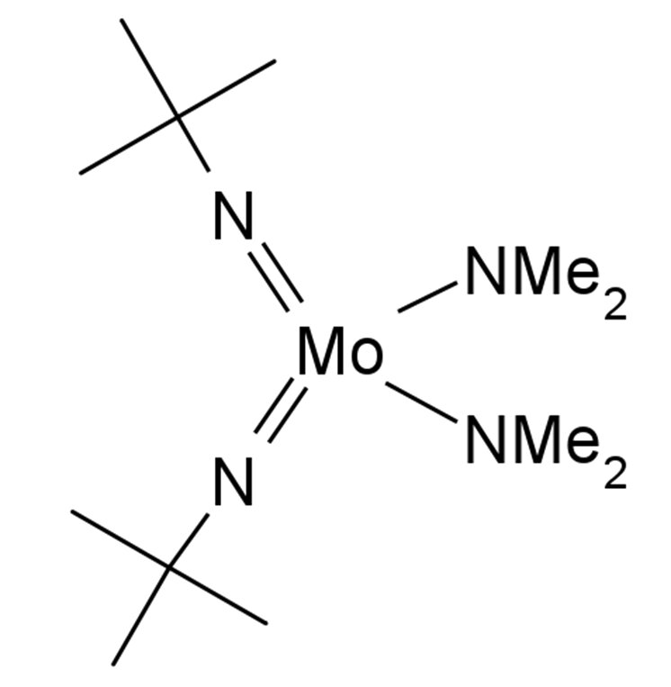 Bis(t-butylimido)bis(dimethylamino)molybdenum Chemical Structure