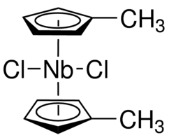 Bis(methylcyclopentadienyl)niobium(IV) dichloride Chemical Structure