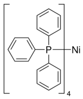 Tetrakis(triphenylphosphine)nickel(0) Chemical Structure