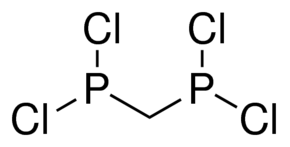 Bis(dichlorophosphino)methane Chemical Structure
