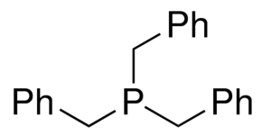 Tribenzylphosphine Chemical Structure
