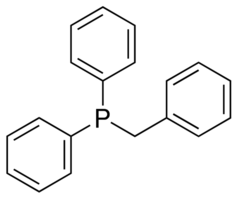 Benzyldiphenylphosphine Chemical Structure