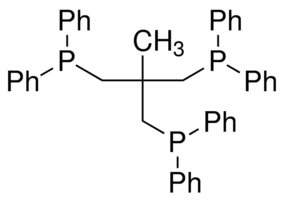1,1,1-Tris(diphenylphosphinomethyl)ethane Chemical Structure