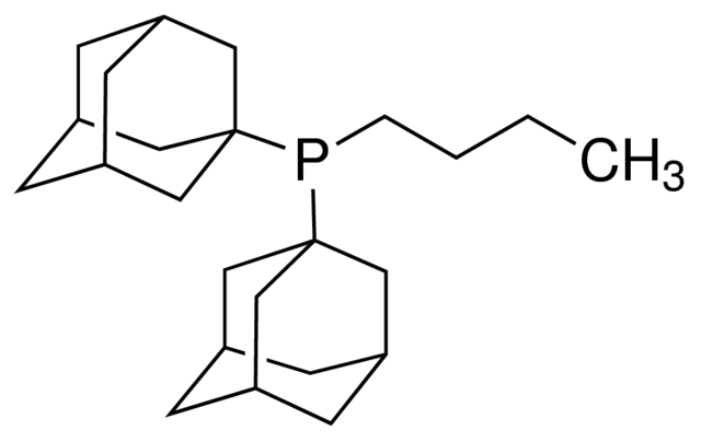 Di(1-adamantyl)-n-butylphosphine Chemical Structure