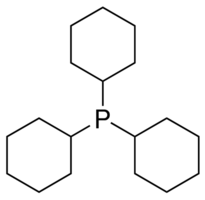 Tricyclohexylphosphine Chemical Structure
