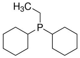 Dicyclohexylethylphosphine Chemical Structure