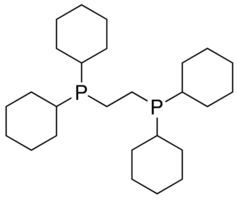 1,2-Bis(dicyclohexylphosphino)ethane Chemical Structure