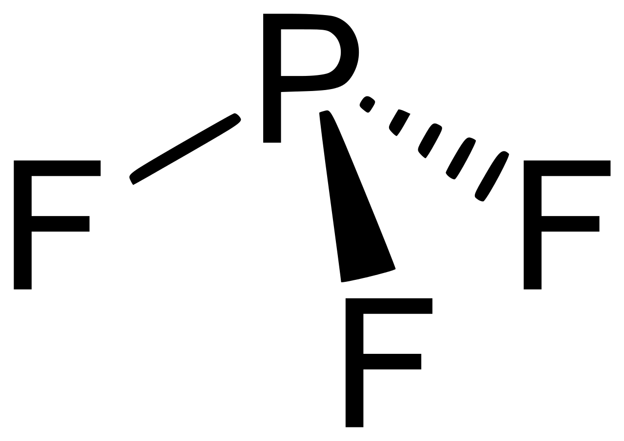 Phosphorus trifluoride Chemical Structure