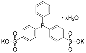 Bis(p-sulfonatophenyl)phenylphosphine dihydrate dipotassium salt Chemical Structure