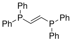 Trans-1,2-Bis(diphenylphosphino)ethylene Chemical Structure
