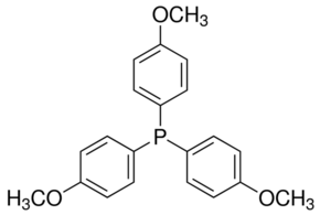 Tris(4-methoxyphenyl)phosphine Chemical Structure