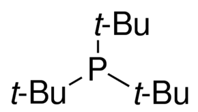 Tri-t-butylphosphine Chemical Structure